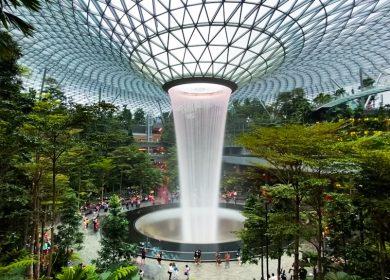 HSBC Vortex at the Jewel at Changi